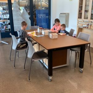 library maker desk