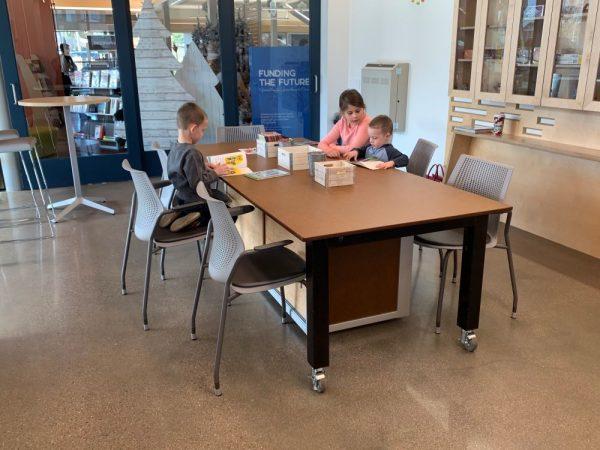 library maker desk