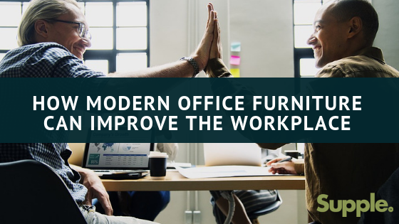 modern office furniture workplace