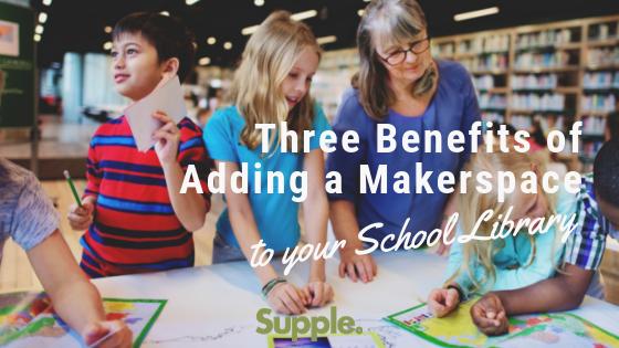 makerspace school library benefits