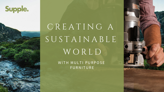 sustainable multipurpose furniture