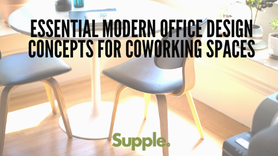 modern office design concepts coworking spaces