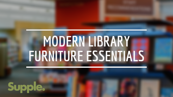 modern library furniture essentials supple