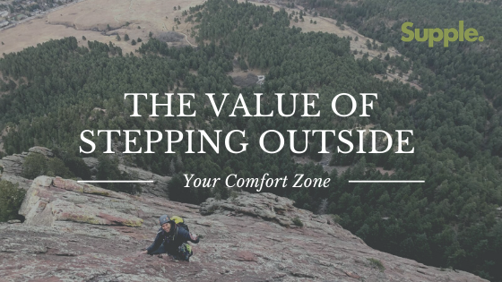 stepping outside comfort zone