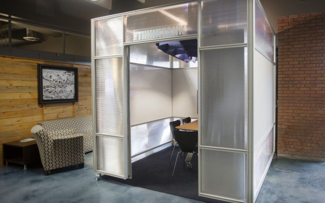 storage solutions coworking office
