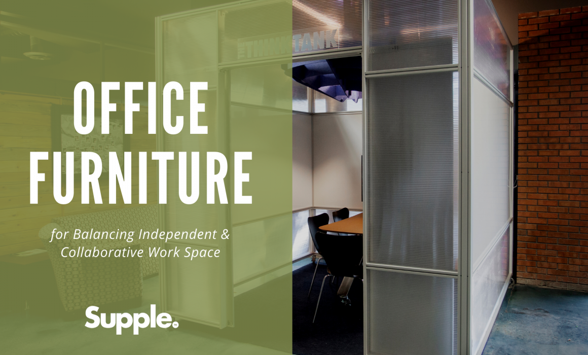 office furniture independent collaborative space