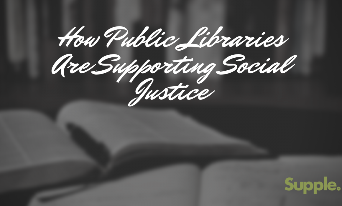 public libraries supporting social justice